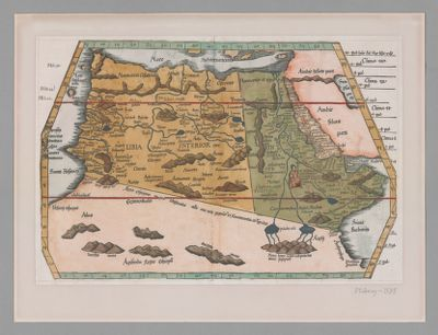 [Tabula IIII Aphricae... Libya interior, Aethiopia sub Aegypto, Aethiopia omnibus is australior]