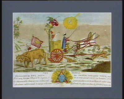 Vox populi obeissance au roi, justice au peuple, loix pour tous, Amen... : [estampe]
