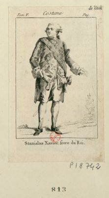 Stanislas Xavier, frere du Roi [estampe]