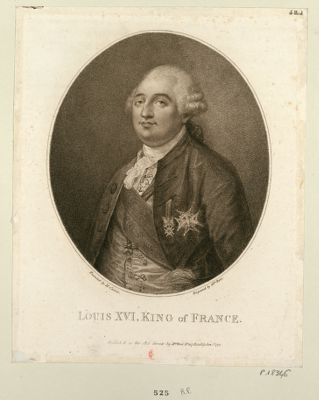 Louis XVI , King of France [estampe]