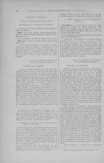 Tome 57 : Du 12 au 28 janvier 1793 - page 26