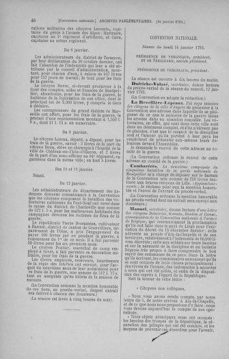 Tome 57 : Du 12 au 28 janvier 1793 - page 40
