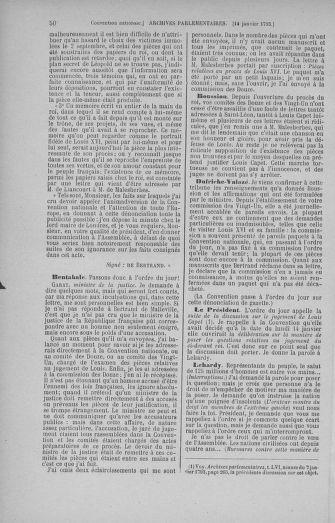 Tome 57 : Du 12 au 28 janvier 1793 - page 50