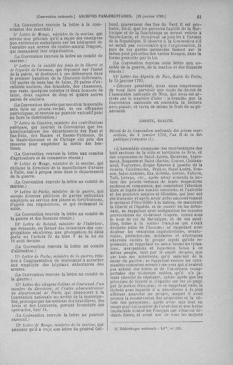 Tome 57 : Du 12 au 28 janvier 1793 - page 61