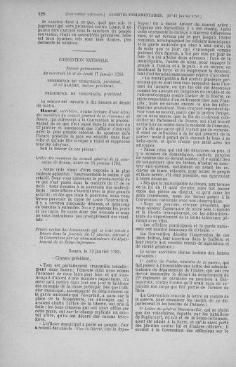 Tome 57 : Du 12 au 28 janvier 1793 - page 328