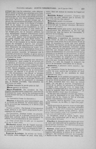 Tome 57 : Du 12 au 28 janvier 1793 - page 409