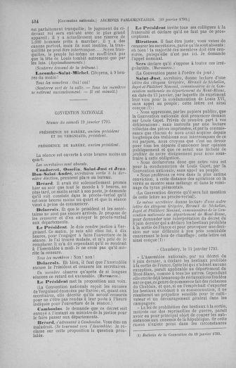 Tome 57 : Du 12 au 28 janvier 1793 - page 434