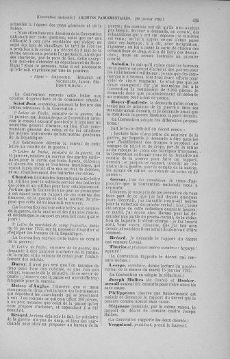 Tome 57 : Du 12 au 28 janvier 1793 - page 435