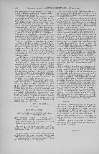 Tome 57 : Du 12 au 28 janvier 1793 - page 476