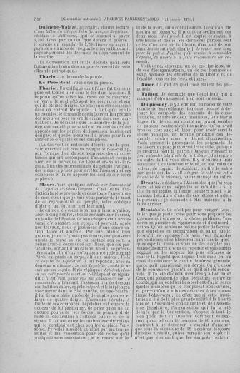 Tome 57 : Du 12 au 28 janvier 1793 - page 516