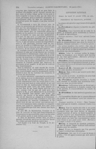 Tome 57 : Du 12 au 28 janvier 1793 - page 534