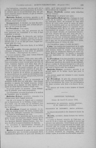 Tome 57 : Du 12 au 28 janvier 1793 - page 535
