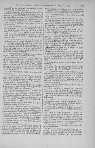 Tome 57 : Du 12 au 28 janvier 1793 - page 537