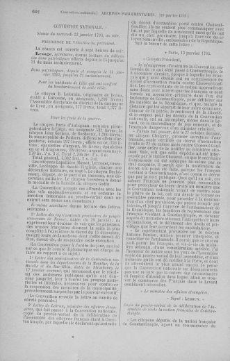 Tome 57 : Du 12 au 28 janvier 1793 - page 632