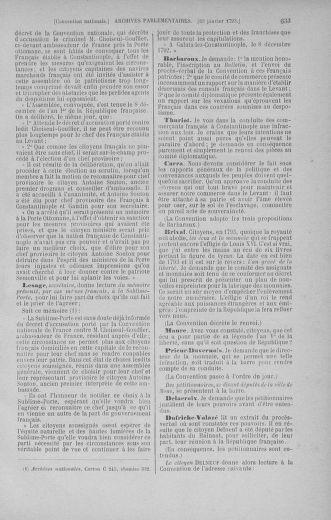Tome 57 : Du 12 au 28 janvier 1793 - page 633