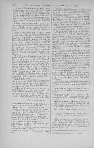 Tome 57 : Du 12 au 28 janvier 1793 - page 634