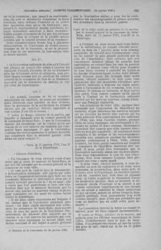 Tome 57 : Du 12 au 28 janvier 1793 - page 683