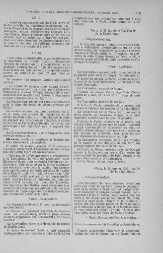 Tome 57 : Du 12 au 28 janvier 1793 - page 709
