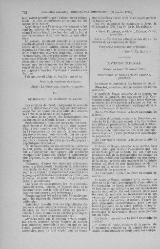 Tome 57 : Du 12 au 28 janvier 1793 - page 722