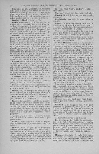 Tome 57 : Du 12 au 28 janvier 1793 - page 734
