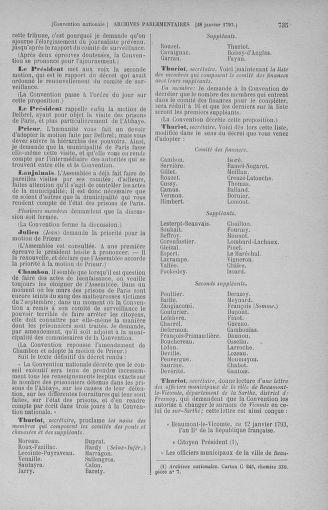 Tome 57 : Du 12 au 28 janvier 1793 - page 735