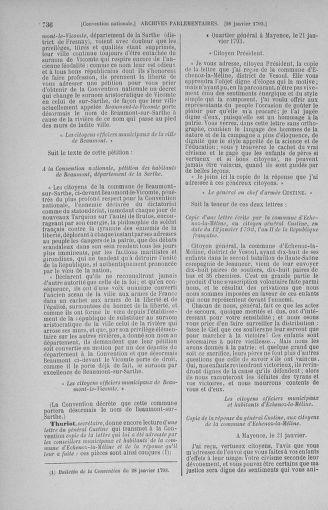 Tome 57 : Du 12 au 28 janvier 1793 - page 736