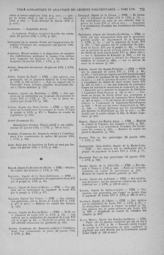 Tome 57 : Du 12 au 28 janvier 1793 - page 773