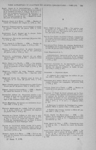Tome 57 : Du 12 au 28 janvier 1793 - page 785