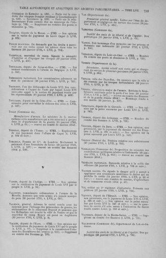 Tome 57 : Du 12 au 28 janvier 1793 - page 799