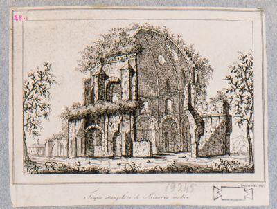 Tempio rettangolare di Minerva Medica