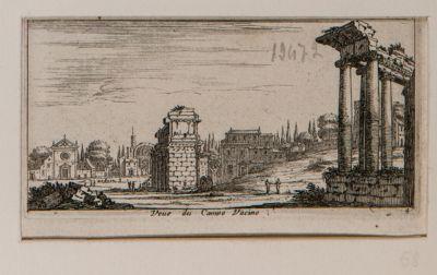 Foro Romano, Campo Vaccino, tempio della Concordia