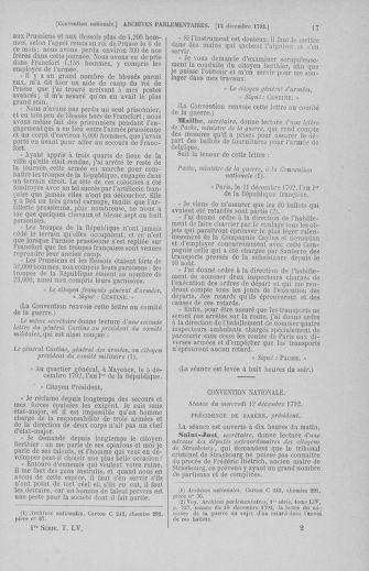 Tome 55 : Du 11 au 27 décembre 1792 - page 17