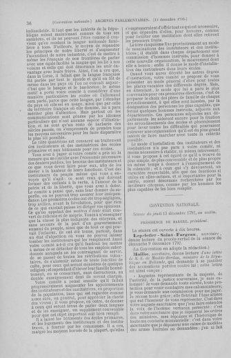 Tome 55 : Du 11 au 27 décembre 1792 - page 36