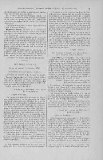 Tome 55 : Du 11 au 27 décembre 1792 - page 59