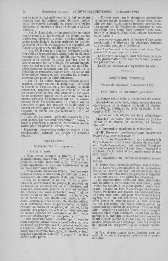 Tome 55 : Du 11 au 27 décembre 1792 - page 76