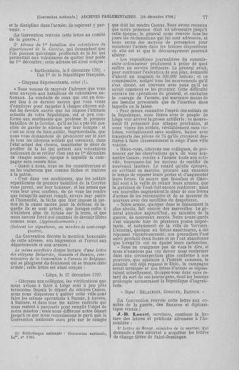 Tome 55 : Du 11 au 27 décembre 1792 - page 77