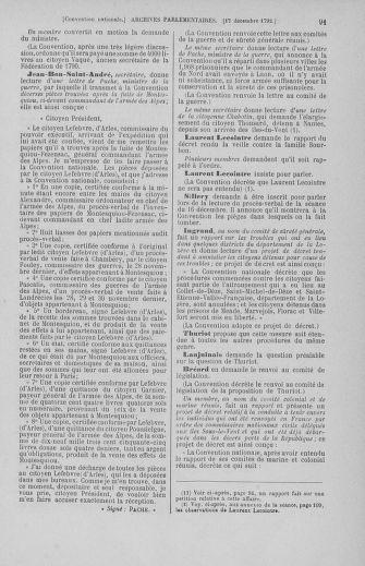 Tome 55 : Du 11 au 27 décembre 1792 - page 91
