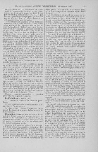 Tome 55 : Du 11 au 27 décembre 1792 - page 127