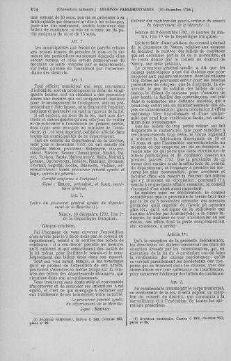 Tome 55 : Du 11 au 27 décembre 1792 - page 174