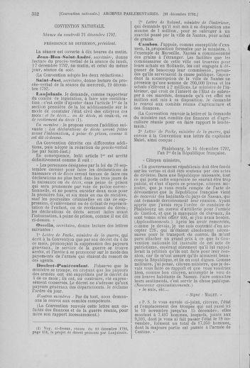 Tome 55 : Du 11 au 27 décembre 1792 - page 332
