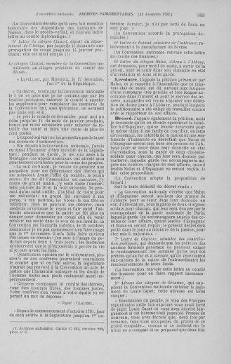 Tome 55 : Du 11 au 27 décembre 1792 - page 333