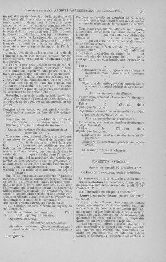 Tome 55 : Du 11 au 27 décembre 1792 - page 351