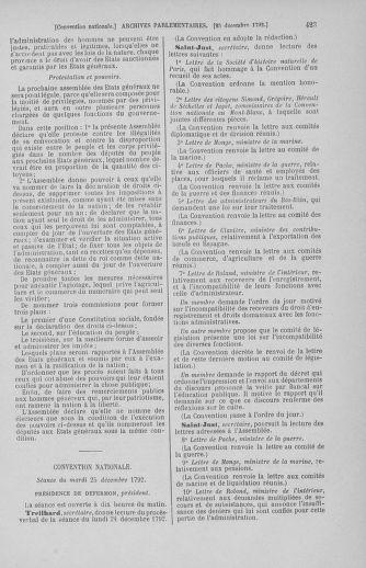 Tome 55 : Du 11 au 27 décembre 1792 - page 423
