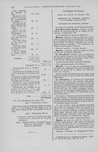 Tome 55 : Du 11 au 27 décembre 1792 - page 612