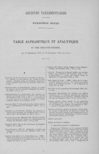 Tome 55 : Du 11 au 27 décembre 1792 - page ..