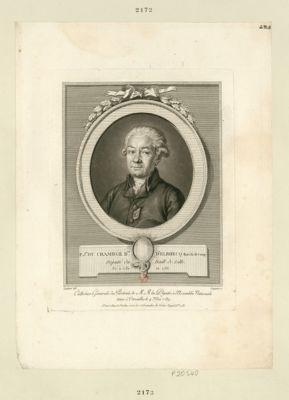 P. J.ph Chambge B.on d'Elbhecq Maréch. de Camp Député du Baill. de Lille. Né à Lille en 1733 : [estampe]