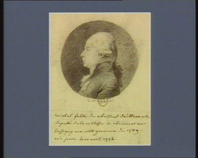 Michel Felix de Choiseul d'Aillecourt député de la noblesse de Chaumont-en-Bassigny aux Etats Généraux de 1789 né à Paris la 10 avril 1754 : [dessin]