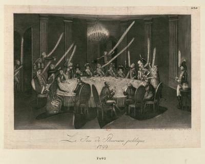 Le  Jeu de Pharaon <em>politique</em> 1799 [estampe]
