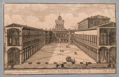 Palazzo del Quirinale. Cortile