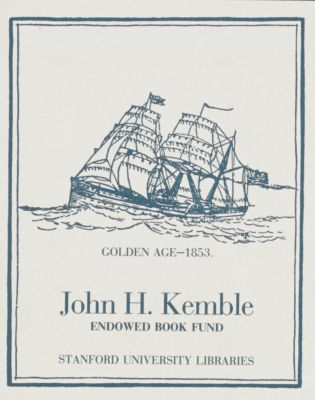 John H. Kemble Endowed Book Fund